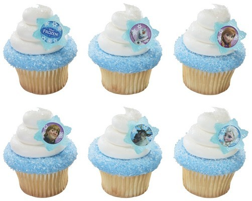 Frozen 12pcs Cupcake Rings