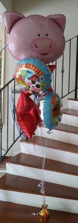 Farm Animals Balloon Bouquet