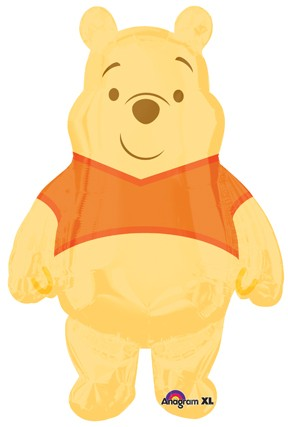 30in Winnie The Pooh Welcome Little One Shape Balloon