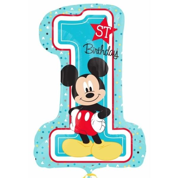 28in Mickey 1st Foil Balloon