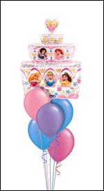 Disney Princesses Balloon Bouquet