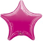 "18"" Hot Pink Star Balloon"
