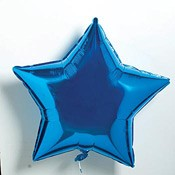"18"" Blue Star Balloon"