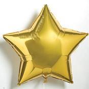 "18"" Gold Star Balloon"