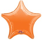 "18"" Orange Star Balloon"
