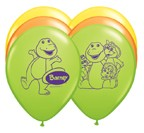 "12"" Barney Latex Balloons"