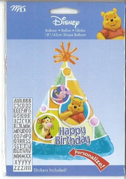 18in PERSONALIZE IT! Winnie the Pooh & Friends Balloon