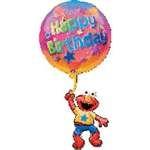 Elmo Floating Birthday SuperShape Balloon