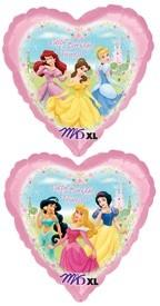 """18"""" Disney Princess Heart Balloon"""