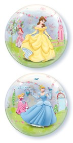 "Princess Dreamland 22"" Single Bubble Balloon"