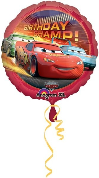 "18"" Disney Cars Happy Birthday Balloon"
