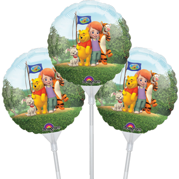 "Pooh & Friends 9""/23cm EZ-Fill Balloon"
