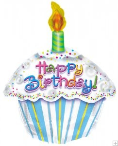 Birthday Cupcake Balloon