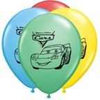 "12"" Cars Latex Balloons"