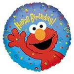 "18"" Elmo Happy Birthday Balloon"