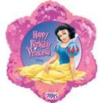 "18"" Disney Fairies Snow White Happy Birthday Balloon"