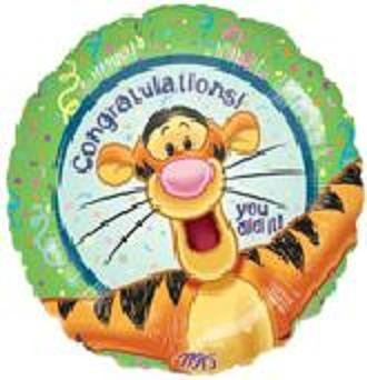 18in Congratulations from Tigger