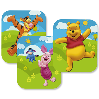Pooh Happy Birthday Wall Decoration