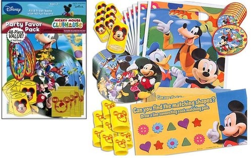 Mickey Mouse Value Favor Pack