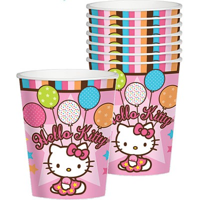 Hello Kitty Balloon Dreams Cups 8ct