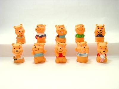 Pooh 10 pcs Figure Topper
