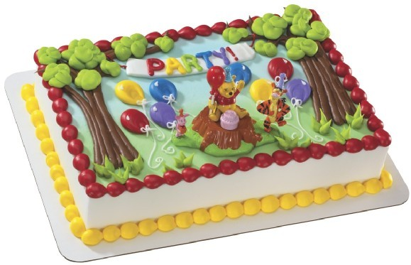 Winnie the Pooh Magic Balloon Cake Decoration
