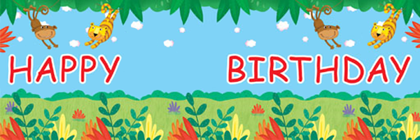 Jungle Buddies Banner