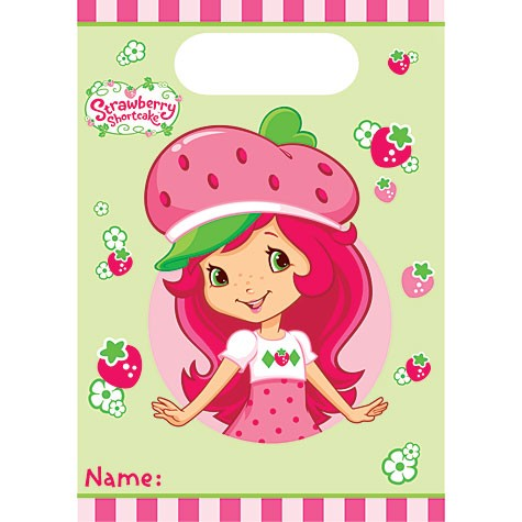 Strawberry Shortcake Party Bags 8ct