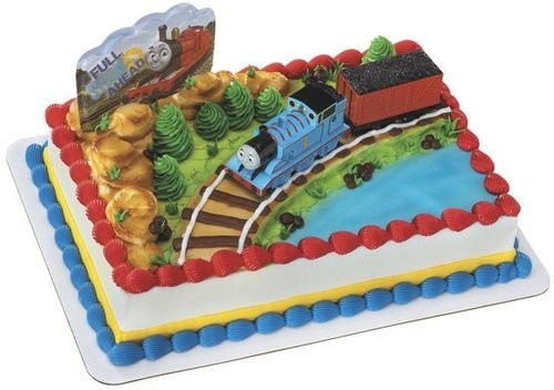 Thomas Friends and Coal Cars Cake Topper