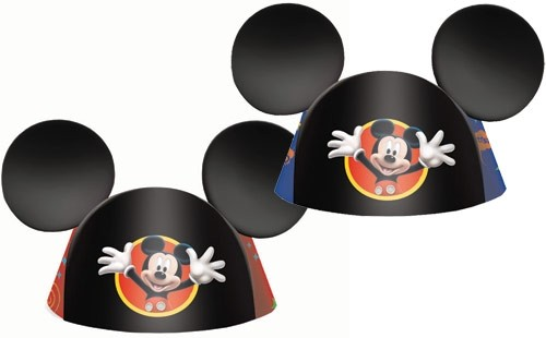 Mickey Mouse Party Hats 8pcs