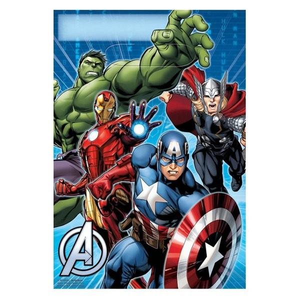 Avengers Treat Bags