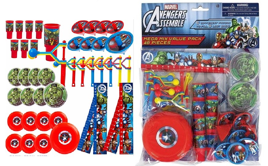 Avengers Favor Pack 48pcs