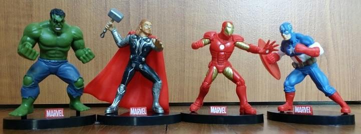 Avengers Figures Cake Topper Set 4pcs