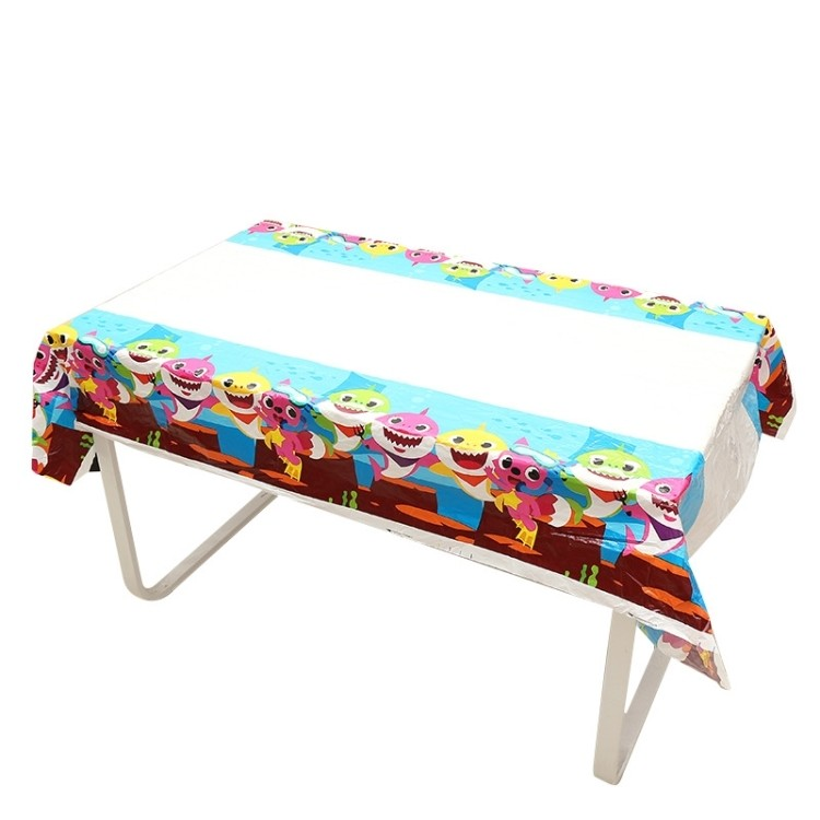 Babyshark Giant Table Cover