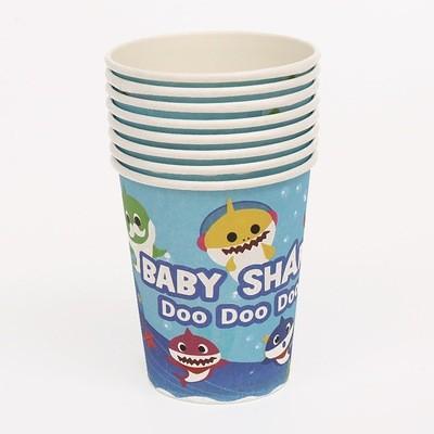 Babyshark paper cups 8pcs per pack