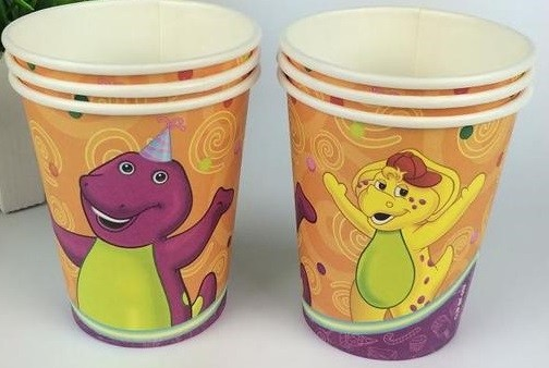 Barney and Friends Paper Cup