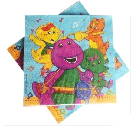 Barney and Friends paper Napkins