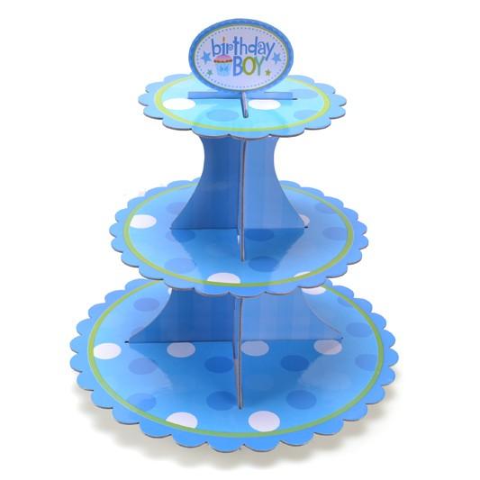 Birthday Boy Cupcake Stand