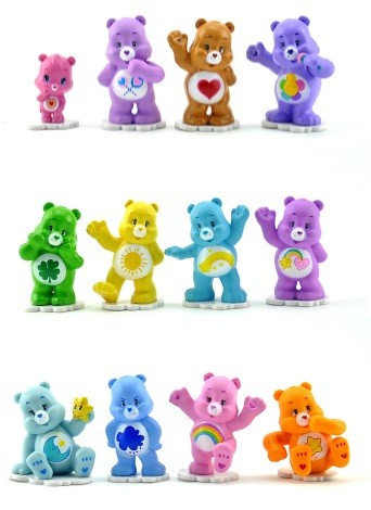 Care Bears Figures Cake Topper Set