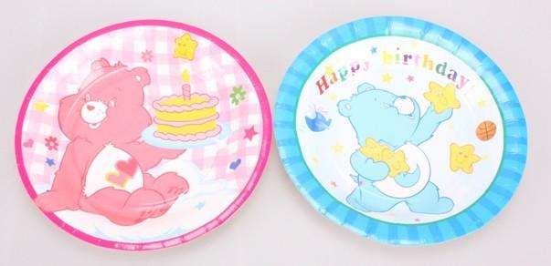 Care Bears Cake Plates