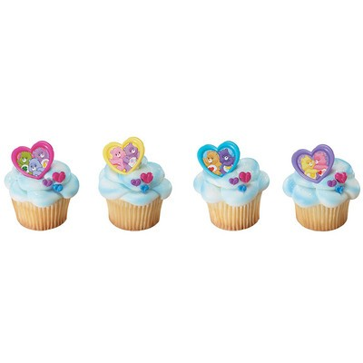 Care Bears Cupcake Ring Cake Toppers
