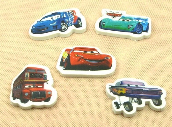 Cars Eraser 6pcs per pack