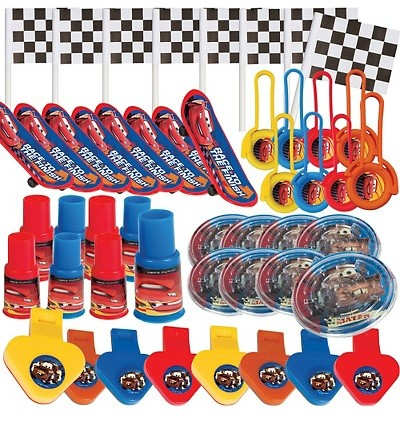 Disney Cars Favor Value Pack with 48 pieces