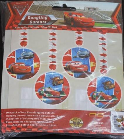 Cars Danglers (4pcs)