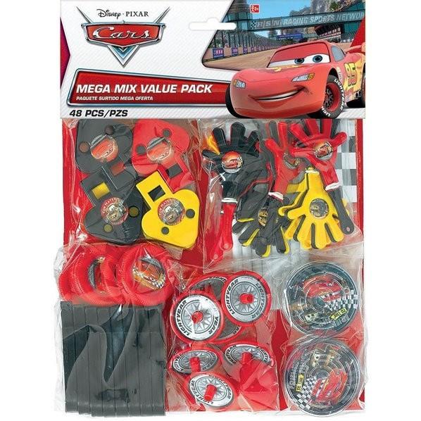 Cars Favor Pack 48pcs