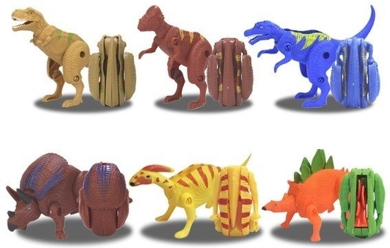 Transforming Dino Egg Toy 6pcs per pack