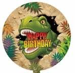 """18"""" Dino Blast Birthday Balloon"""