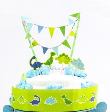 Dinosaurs Cake Decoration Kit