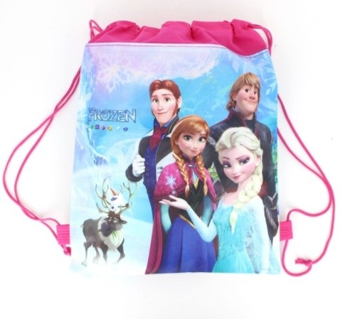 Frozen Draw String Favor Bag