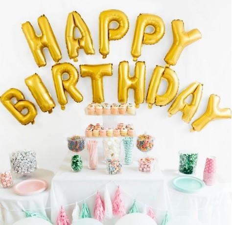 "16"" HAPPY BIRTHDAY Wording Foil Balloon"